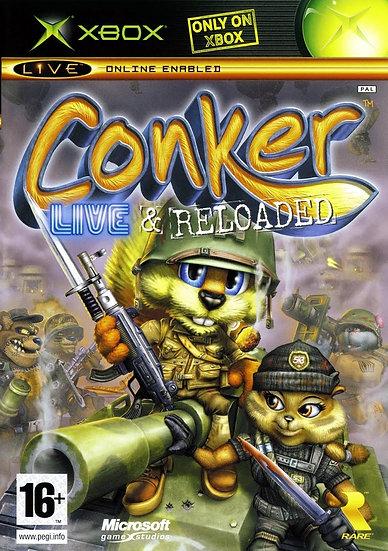 Conker Live and Reloaded - Jogo Original para Xbox 360