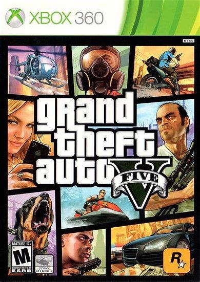 Grand Theft Auto V - Jogo para Xbox 360
