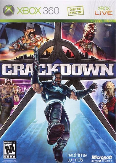 Crackdown - Jogo Original para Xbox 360