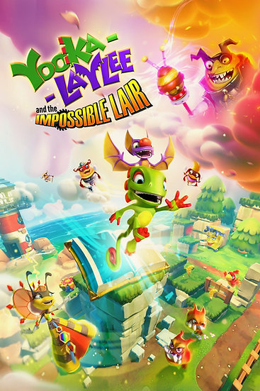 Yooka Laylee and the Impossible Lair - Jogo para Nintendo Switch