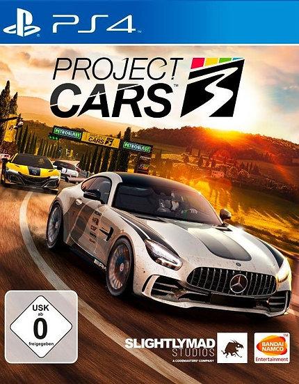 Project Cars 3 - Jogo para Playstation 4