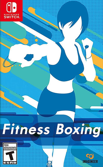 Fitness Boxing - Jogo Exclusivo Nintendo Switch