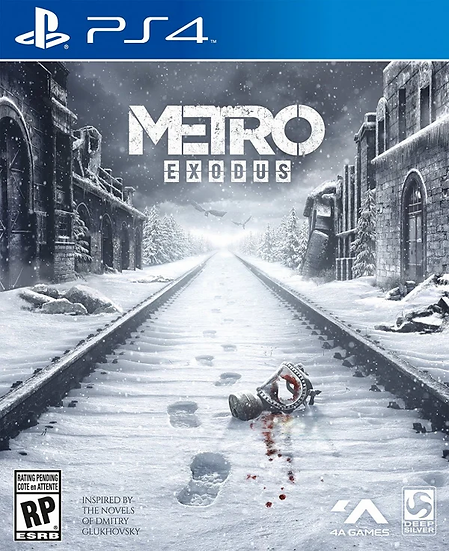 Metro Exodus - Jogo para Playstation 4