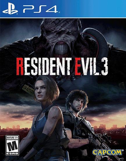 Resident Evil 3 - Jogo para Playstation 4