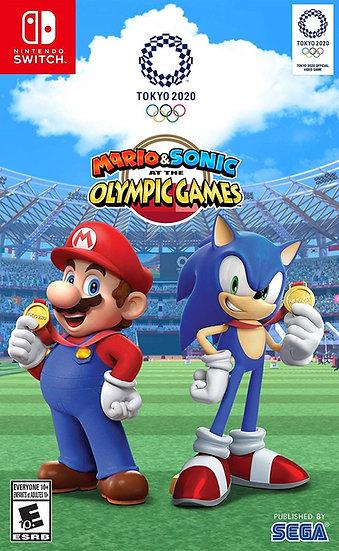 Mario & Sonic Olympic Games 2020 - Jogo Exclusivo Nintendo Switch