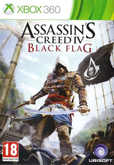 Assassins Creed 4: Blackflag - Jogo Original para Xbox 360