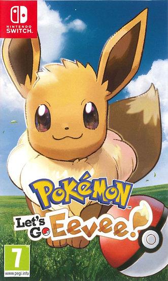 Pokémon Let's Go Eevee - Jogo Exclusivo Nintendo Switch