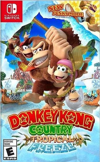 Donkey Kong : Tropical Freeze - Jogo Exclusivo Nintendo Switch