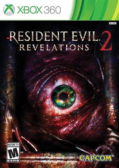 Resident Evil Revelations 2 - Jogo Original para Xbox 360