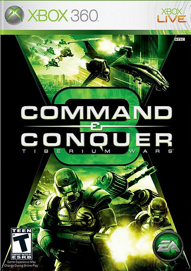 Command and Conquer 3 - Jogo Original para Xbox 360