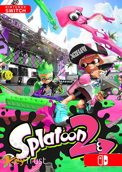 Splatoon 2 - Jogo Exclusivo Nintendo Switch