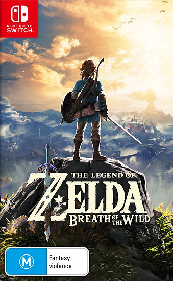 Zelda Breath of the Wild - Jogo Original para Nintendo Switch