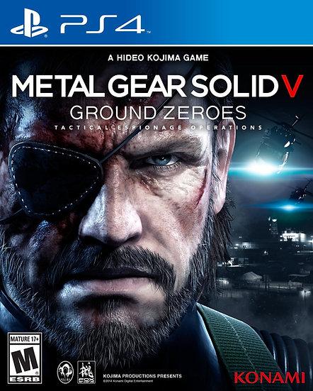Metal Gear Ground Zeroes - Jogo para Playstation 4