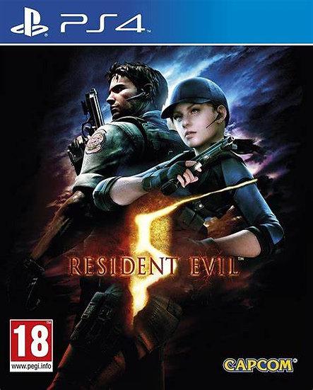Resident Evil 5 - Jogo para Playstation 4