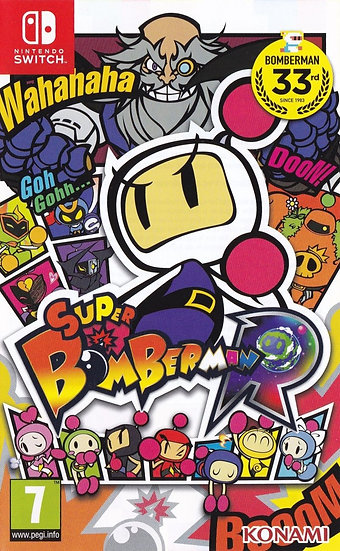 Super Bomberman R - Jogo para Nintendo Switch
