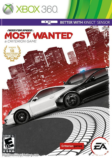Need For Speed: Most Wanted - Jogo Original para Xbox 360