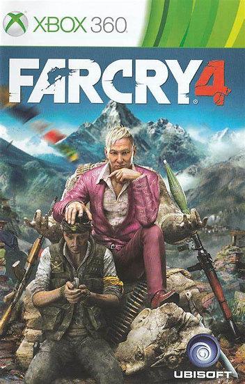 Far Cry 4 - Jogo Original para Xbox 360