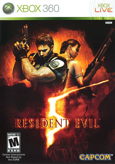 Resident Evil 5 - Jogo Original para Xbox 360