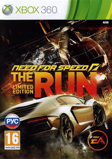 Need For Speed: The Run - Jogo Original para Xbox 360