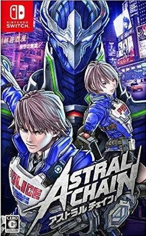 Astral Chain - Jogo Exclusivo Nintendo Switch