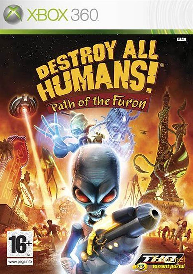 Destroy All Humans: Path of the Furon - Jogo Original para Xbox 360
