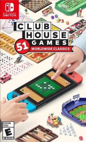 Clubhouse Games - Jogo Exclusivo Nintendo Switch