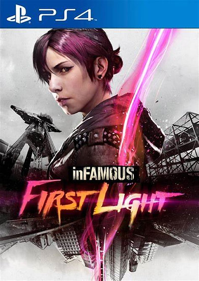 Infamous First Light - Jogo para Playstation 4