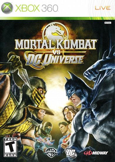 Mortal Kombat vs DC Universe - Jogo Original para Xbox 360