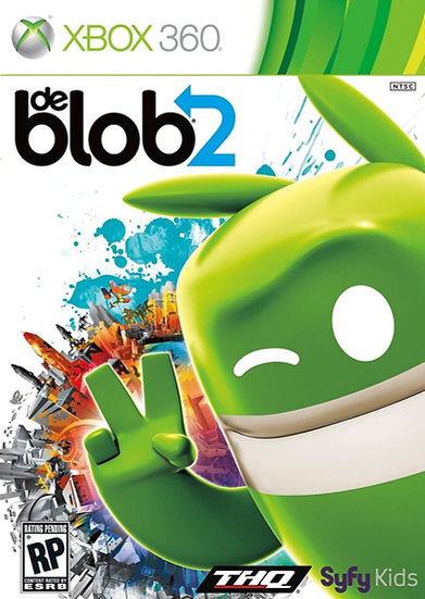 DeBlob 2 - Jogo para Xbox 360 / Xbox One