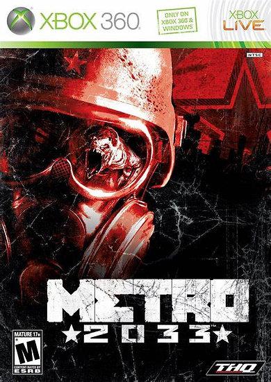 Metro 2033 - Jogo Original para Xbox 360