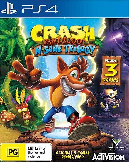 Crash N'Sane Trilogy - Jogo para Playstation 4