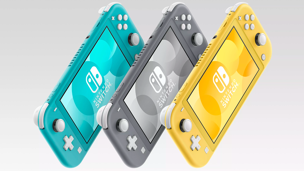 Nintendo Switch 32gb LITE Original + 4 Jogos Exclusivos