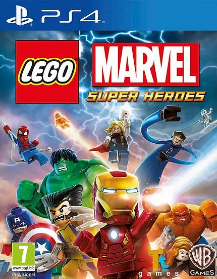 Lego Super Heroes - Jogo para Playstation 4