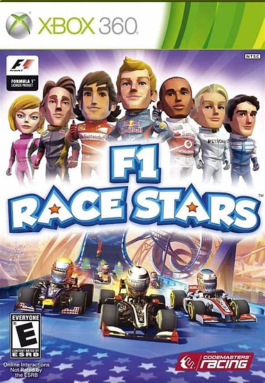 F1 Race Stars - Jogo Original para Xbox 360