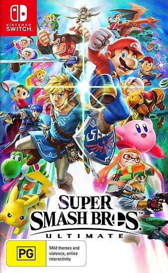 Super Smash Bros Ultimate - Jogo Exclusivo Nintendo Switch