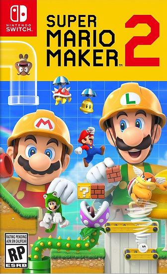 Super Mario Maker 2 - Jogo Exclusivo Nintendo Switch