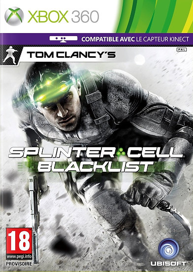 SplinterCell : Blacklist - Jogo para Xbox 360 / Xbox One