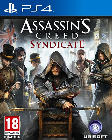 Assassins Creed Syndicate - Jogo para Playstation 4