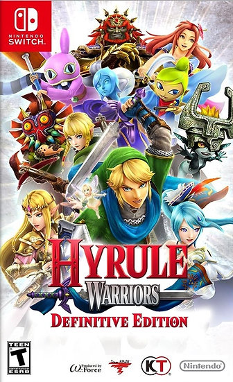 Hyrule Warriors : Definitive Edition - Jogo Exclusivo Nintendo Switch