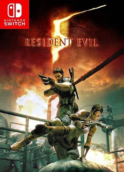 Resident Evil 5 - Jogo para Nintendo Switch