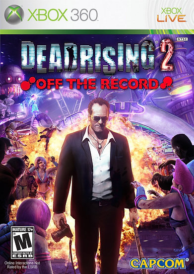 Dead Rising 2: Off the Record - Jogo Original para Xbox 360