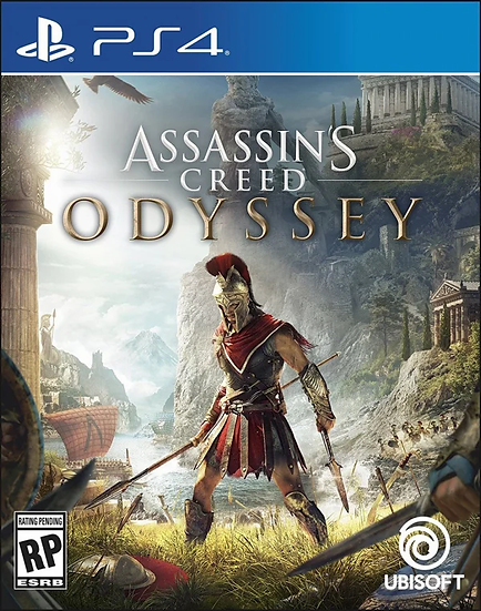 Assassins Creed Odyssey - Jogo para Playstation 4
