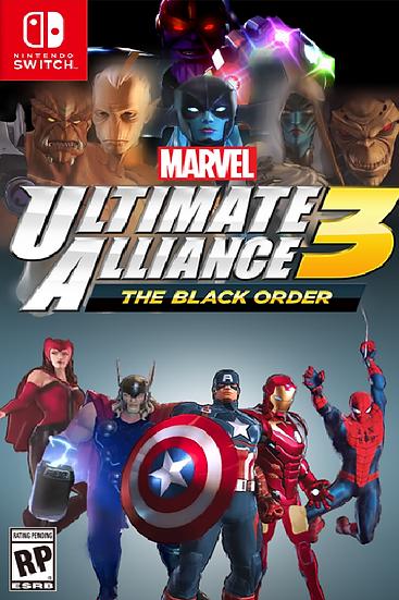 Marvel Ultimate Alliance 3 - Jogo Exclusivo Nintendo Switch