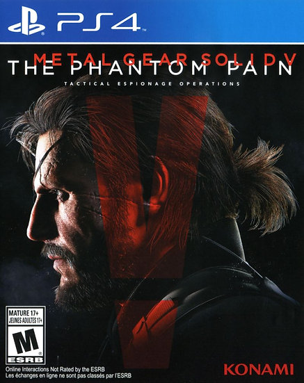 Metal Gear Phantom Pain - Jogo para Playstation 4