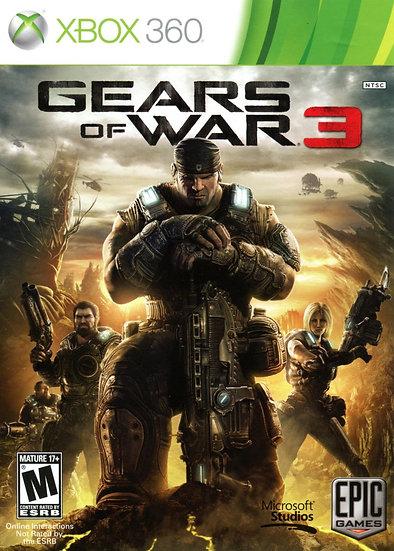 Gears of War 3 - Jogo para Xbox 360 / Xbox One