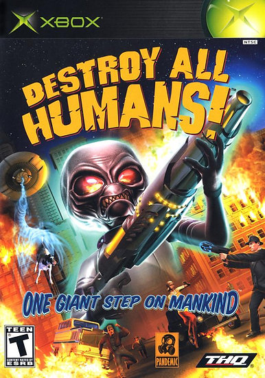 Destroy All Humans - Jogo para Xbox 360 / Xbox One / Xbox Classic