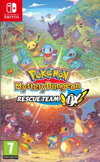Pokémon Mistery Dungeon : Rescue Team - Jogo Exclusivo Nintendo Switch