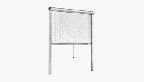 McCoy Pull Down/Roll Up Type Insect Screens