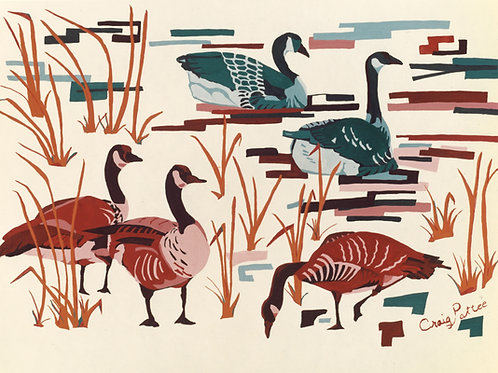 Canadian Geese Giclee Reproductions