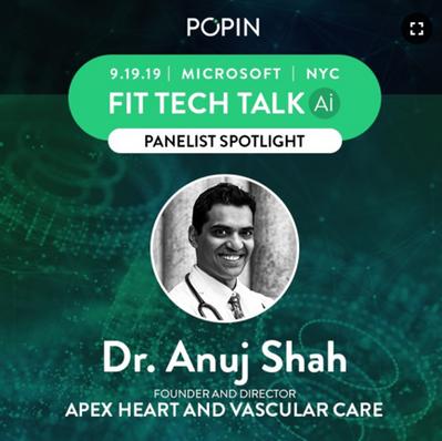POPIN Fit Tech Talk Dr Anuj Shah